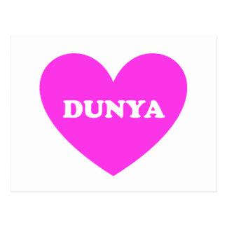 Dunya Postcard