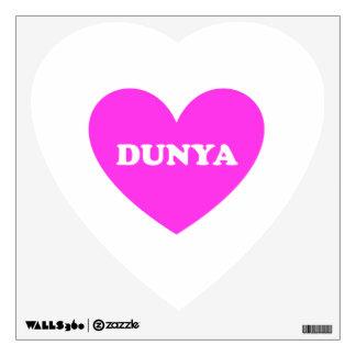 Dunya Wall Sticker