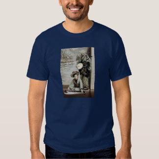 duo 3: banjo and lap steel guitar t shirt