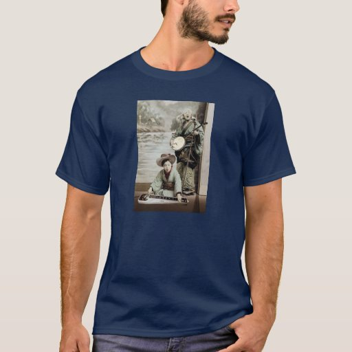Banjo and Lap Steel Guitar T-Shirt