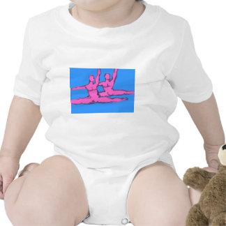 Dúo de Jete de los bailarines Traje De Bebé