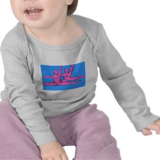 Dúo de Jete de los bailarines Camisetas