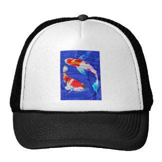 Dúo de Kohaku en la charca azul profunda Gorro