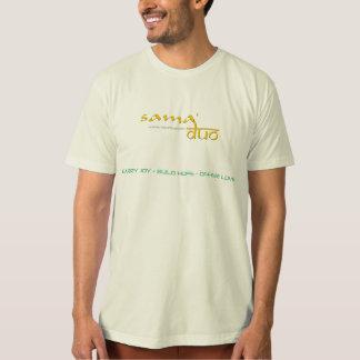 Dúo de Sama, ropa sostenible Playeras