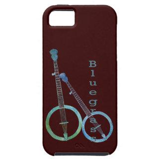 Dúo del banjo del Bluegrass iPhone 5 Protector