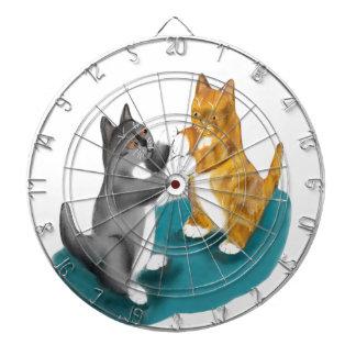 Dúo del boxeo - dos hermanos del gatito