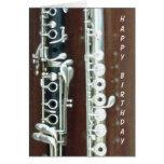 Dúo del Clarinet y de la flauta Tarjetón