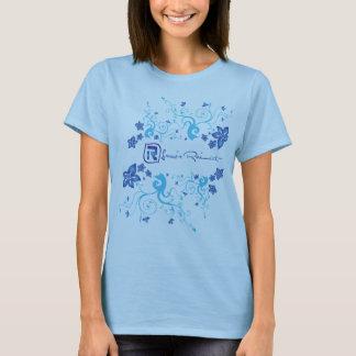 Duo Flower Blue T-Shirt