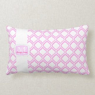 Duo-tone Moroccan Trellis (Monogram) Pillow