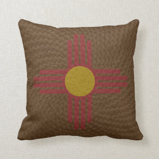 Duo tone New Mexico Pillow matches any decor