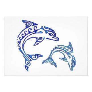 Dúo tribal de la masopa del tatuaje