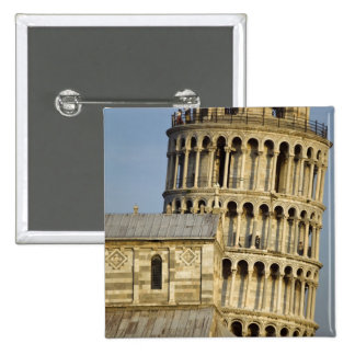 Duomo and Leaning Tower, Pisa, Tuscany, Italy Pinback Buttons