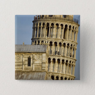 Duomo and Leaning Tower, Pisa, Tuscany, Italy Pinback Button