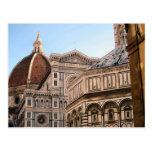 Duomo de Firenze - Baptistry Postal