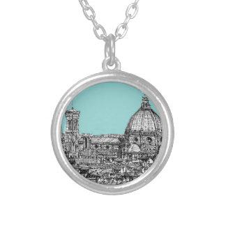 Duomo de Florencia azul claro Joyerias