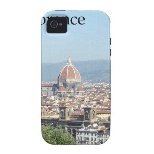 Duomo de Florencia del cuadrado de Miguel Ángel Case-Mate iPhone 4 Carcasa