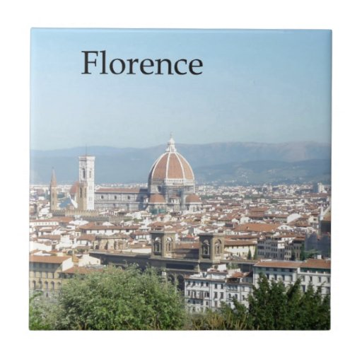 Duomo de Florencia del cuadrado de Miguel Ángel (n Azulejo Cuadrado Pequeño