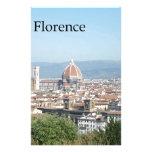 Duomo de Florencia del cuadrado de Miguel Ángel (n Papeleria De Diseño