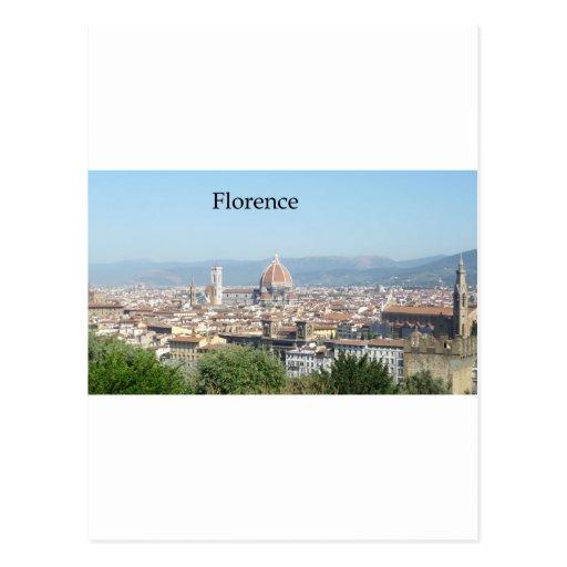 Duomo de Florencia del cuadrado de Miguel Ángel Postal