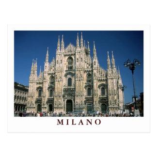 """""""Duomo de IL, postal de Milano"""""""