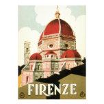 Duomo de la iglesia de Florencia Firenze Italia de Comunicado Personalizado