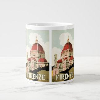 Duomo de la iglesia de Florencia Firenze Italia de Tazas Extra Grande