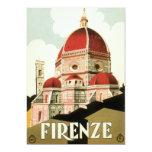 Duomo de la iglesia de Florencia Firenze Italia Comunicado Personalizado