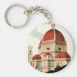 Duomo de la iglesia de Florencia Firenze Italia Llaveros