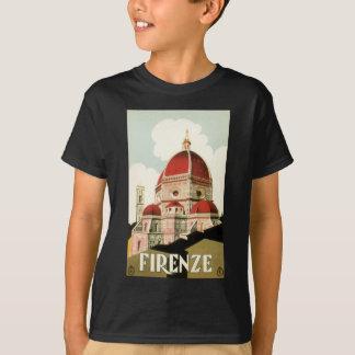 Duomo de la iglesia de Florencia Firenze Italia Playeras