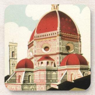 Duomo de la iglesia de Florencia Firenze Italia Posavasos