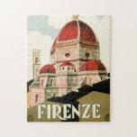 Duomo de la iglesia de Florencia Firenze Italia Rompecabezas