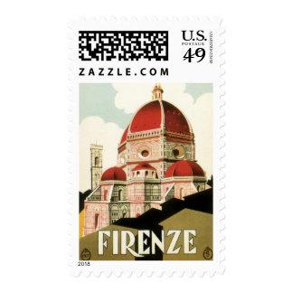Duomo de la iglesia de Florencia Firenze Italia Franqueo