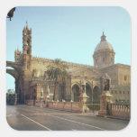 Duomo del EL, fundado por Gualterio, arzobispo de Pegatina Cuadrada