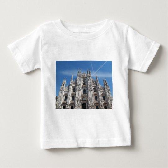 Duomo di Milano gothic cathedral church, Milan, It Baby T-Shirt