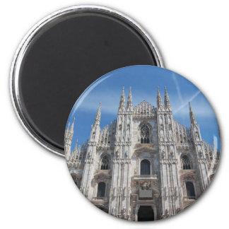 Duomo di Milano gothic cathedral church, Milan, It Magnet
