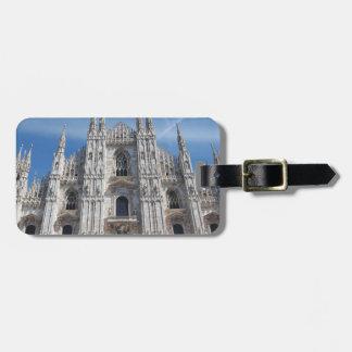 Duomo di Milano Milan Cathedral Italy Luggage Tag