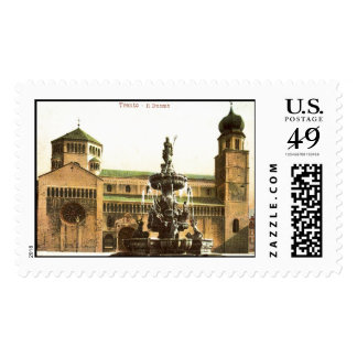 Duomo di Trento Postage Stamp