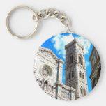 Duomo en Florencia, Italia Llaveros