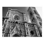 Duomo en Florencia, Italia Postal