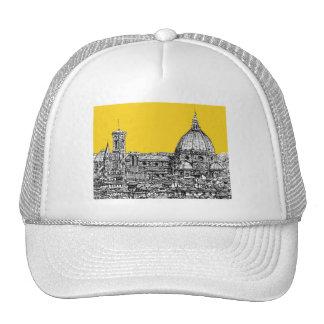 Duomo Florence in orange Trucker Hat