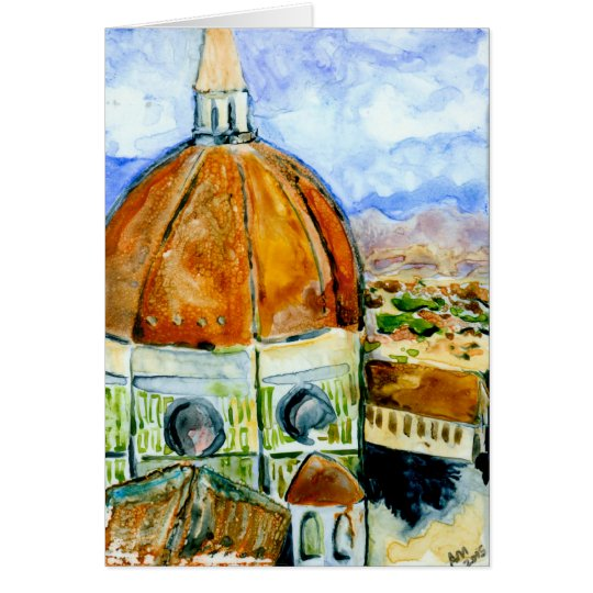 Duomo- Florence Italy  Card