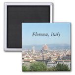 Duomo, Florence, Italy (St.K.) 2 Inch Square Magnet