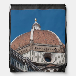 Duomo in Florence Italy Drawstring Backpack