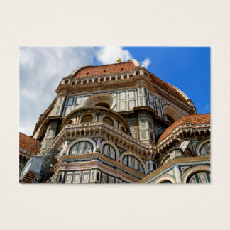 Duomo, in Florence, Tuscany, Italy Business Card