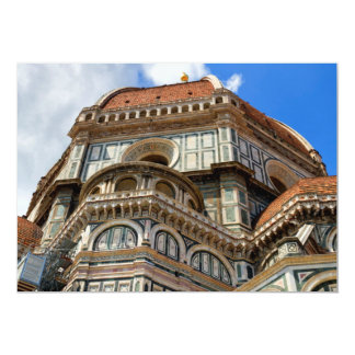 Duomo, in Florence, Tuscany, Italy Card