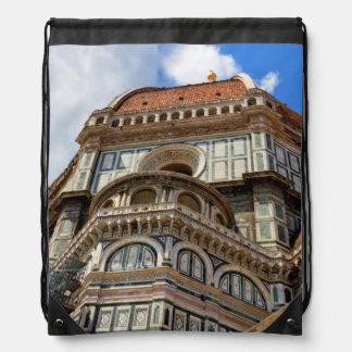 Duomo, in Florence, Tuscany, Italy Drawstring Bag