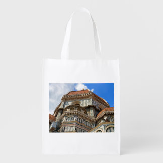 Duomo, in Florence, Tuscany, Italy Grocery Bag