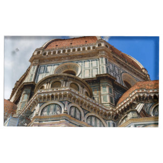 Duomo, in Florence, Tuscany, Italy Table Card Holder