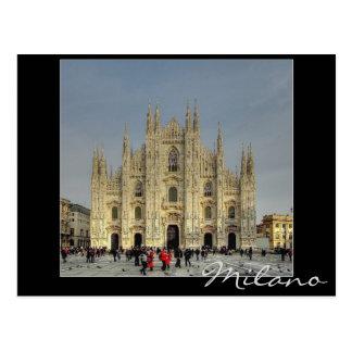 Duomo Milan, Italy Postcard