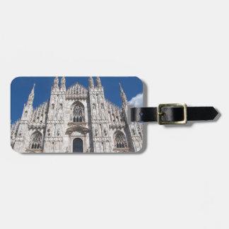 Duomo Milano Gothic Cathedral Church Milan Italy Bag Tag